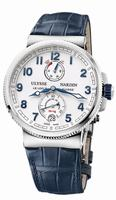 Ulysse Nardin Marine Chronometer Manufacture Mens Wristwatch 1183-126/60