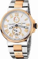 Ulysse Nardin Marine Chronometer Manufacture Mens Wristwatch 1185-122-8M-41