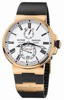 Ulysse Nardin Marine Chronometer Manufacture Mens Wristwatch 1186-122-3.40