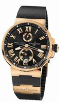 Ulysse Nardin Marine Chronometer Manufacture Mens Wristwatch 1186-122-3/42