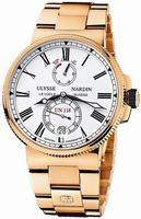 Ulysse Nardin Marine Chronometer Manufacture Mens Wristwatch 1186-122-8M.40