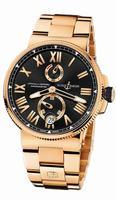 Ulysse Nardin Marine Chronometer Manufacture Mens Wristwatch 1186-122-8M/42