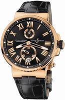 Ulysse Nardin Marine Chronometer Manufacture Mens Wristwatch 1186-122.42