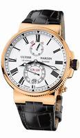 Ulysse Nardin Marine Chronometer Manufacture Mens Wristwatch 1186-122/40