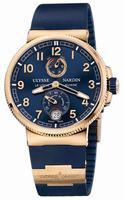 Ulysse Nardin Marine Chronometer Manufacture 43mm Mens Wristwatch 1186-126-3.63