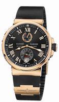 Ulysse Nardin Marine Chronometer Manufacture Mens Wristwatch 1186-126-3/42