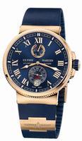 Ulysse Nardin Marine Chronometer Manufacture Mens Wristwatch 1186-126-3/43