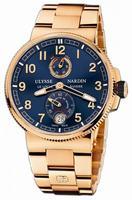 Ulysse Nardin Marine Chronometer Manufacture 43mm Mens Wristwatch 1186-126-8M.63