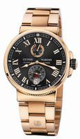 Ulysse Nardin Marine Chronometer Manufacture Mens Wristwatch 1186-126-8M/42