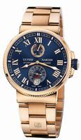 Ulysse Nardin Marine Chronometer Manufacture Mens Wristwatch 1186-126-8M/43