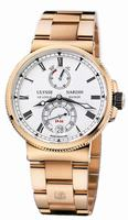 Ulysse Nardin Marine Chronometer Manufacture Mens Wristwatch 1186-126-8M/E0