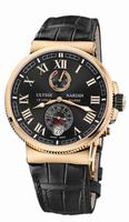 Ulysse Nardin Marine Chronometer Manufacture Mens Wristwatch 1186-126/42