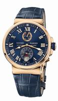 Ulysse Nardin Marine Chronometer Manufacture Mens Wristwatch 1186-126/43