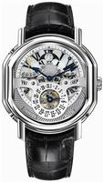 Daniel Roth Ellipsocurvex Perpetual Calendar Time Equation Mens Wristwatch 121.Y.60.721.CN.BD