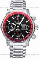 Ebel 1911 Discovery Chronograph Mens Wristwatch 1215890