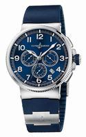 Ulysse Nardin Marine Chronograph Manufacture Mens Wristwatch 1503-150-3.63