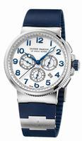Ulysse Nardin Marine Chronograph Manufacture Mens Wristwatch 1503-150-3/60