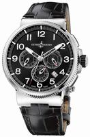 Ulysse Nardin Marine Chronograph Manufacture Mens Wristwatch 1503-150-62