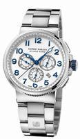 Ulysse Nardin Marine Chronograph Manufacture Mens Wristwatch 1503-150-7M/60