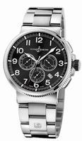 Ulysse Nardin Marine Chronograph Manufacture Mens Wristwatch 1503-150-7M/62