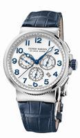 Ulysse Nardin Marine Chronograph Manufacture Mens Wristwatch 1503-150/60