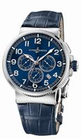 Ulysse Nardin Marine Chronograph Manufacture Mens Wristwatch 1503-150/63