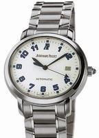 Audemars Piguet Millenary Date Automatic Mens Wristwatch 15049ST.OO.1136ST.02