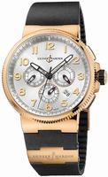 Ulysse Nardin Marine Chronograph Manufacture Mens Wristwatch 1506-150-3.61