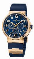 Ulysse Nardin Marine Chronograph Manufacture Mens Wristwatch 1506-150-3/63