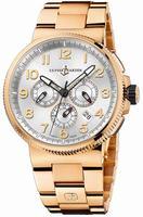 Ulysse Nardin Marine Chronograph Manufacture Mens Wristwatch 1506-150-8M.61