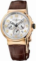 Ulysse Nardin Marine Chronograph Manufacture Mens Wristwatch 1506-150.61
