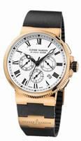 Ulysse Nardin Marine Chronograph Manufacture Mens Wristwatch 1506-150LE-3