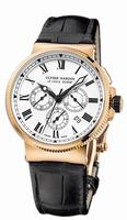 Ulysse Nardin Marine Chronograph Manufacture Mens Wristwatch 1506-150LE