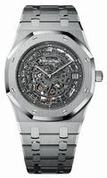 Audemars Piguet Royal Oak Openworked Extra-Thin Mens Wristwatch 15203PT.OO.1240PT.01