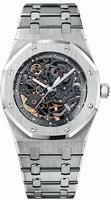 Audemars Piguet Royal Oak Automatic Skeleton Mens Wristwatch 15305ST.OO.1220ST.01