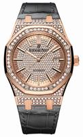 Audemars Piguet Royal Oak Self Winding Ladies Wristwatch 15402OR.ZZ.D003CR.02