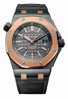 Audemars Piguet Royal Oak Offshore Diver QE II Cup 2014 Mens Wristwatch 15709TR.OO.A005CR.01