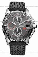 Chopard Mille Miglia GT XL 2009 Titanium LE Chrono Mens Wristwatch 168459-3005