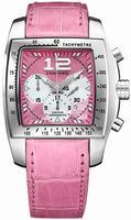Chopard Two O Ten XL Ladies Wristwatch 168961-3001-PINK