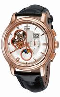 Zenith Chronomaster Open Grande Date Moonphase Mens Wristwatch 18.1260.4047-01.C505