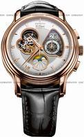 Zenith Chronomaster Open Grande Date Moonphase Mens Wristwatch 18.1260.4047-02.C505