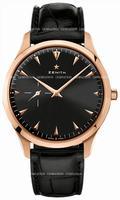 Zenith Elite Ultra Thin Mens Wristwatch 18.2010.681-21.C493