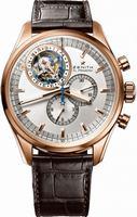 Zenith El Primero Tourbillon Chronograph Mens Wristwatch 18.2050.4035-01.C631
