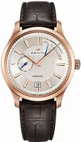 Zenith Captain Power Reserve Mens Wristwatch 18.2120.685-02.C498