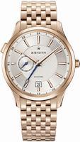 Zenith Captain Dual Time Mens Wristwatch 18.2130.682-02.M2130