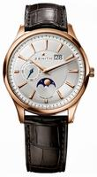 Zenith Elite Captain Moonphase Mens Wristwatch 18.2140.691-02.C498