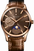 Zenith Heritage Ultra Thin Moonphase Ladies Wristwatch 18.2310.692-75.C709
