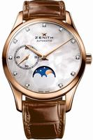 Zenith Heritage Ultra Thin Moonphase Ladies Wristwatch 18.2310.692-81.C709