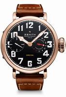 Zenith Pilot Montre d Aeronef Zenith Type 20 Mens Wristwatch 18.2420.5011-21.C723
