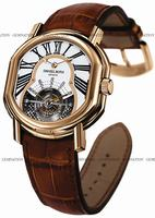 Daniel Roth Ellipsocurvex 8 Day Tourbillon Mens Wristwatch 197.X.40.223.CC.BA